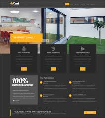 Real Estate Website Templates Simple 28 Real Estate Website Themes Templates Free Premium Templates