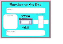 Number Of The Day Smartboard 5 School Math Smart
