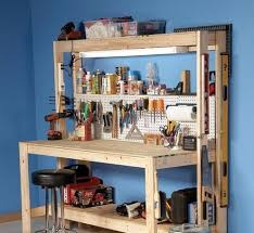 workbench lighting ideas. workbench plans diy from family handyman lighting ideas l