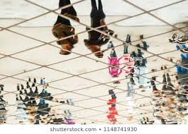 Funhouse Fest Seating Chart Pattern Of Crowd Of People Stock Photos Images