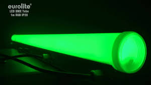 Green Led Tube Lights Eurolite Led Dmx Tube 1m Rgb Ip20