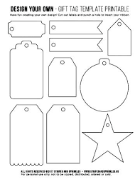 Birthday Tags Template Free Printable Gift Tags Templates Merry And Label Template