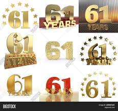 Sixty Design Set Number Sixty One Image Photo Free Trial Bigstock