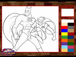 Small Picture Batman Coloring Pages For Kids Batman Coloring Pages Games YouTube