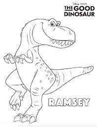 Good Dinosaur Willem Dinosaur Coloring Pages Dinosaur Coloring