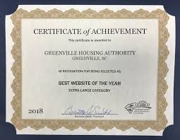The Greenville Housing Authority Earns Regional Website Award (09/05/2018)  - News & Events - Greenville Housing Authority | Greenville, SC