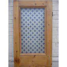victorian etched glass doors ed008 etched glass door with single panel blue gothic design