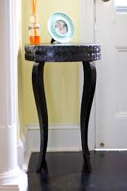diy glitter furniture. Diy Black Glitter Table In Hallway Furniture T