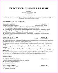 Electrician Duties Responsibilities Resume Baolihf Com Resume