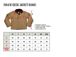 Pike Brothers 1944 N1 Deck Jacket Khaki Lipstick Gearstick