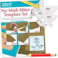 Quilt Rulers and Templates – Quilting rulers & NO MATH MITER TEMPLATE SET WITH FREE 6 IN 1 FABRIC MARKING PENCIL AND  RECEIVING BLANKET Adamdwight.com