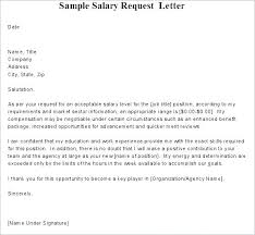 Salary Requirements In Cover Letter Examples Salary Request In Cover Letter Penza Poisk