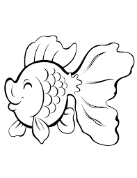 Small Picture Simple Fish Coloring Pages GetColoringPagescom