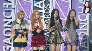 170222 Blackpink Win The Rookie Of The Year 6th Gaonchart Music Awards 2016