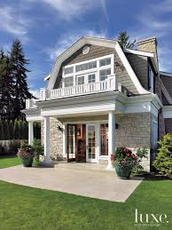 exterior colonial house design. Dutch Colonial House In Washington State #colonial #architecture #exterior #Washington #Luxe Exterior Design S