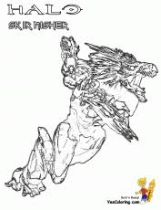 Small Picture Halo Coloring Pages Free Only Coloring Pages Coloring Home