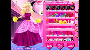 barbie games charming barbie princess makeover game video dailymotion