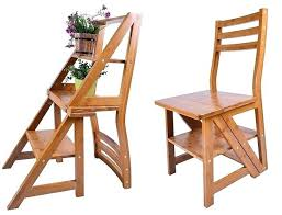 library chair step stool photo 4 of natural wood multi functional convertible folding library ladder chair