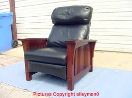 stickley mission chair stickley mission style spindle morris leather recliner arm chair stickley mission dining room stickley