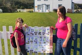 Eight-year-old explores the trails of the Great Northern Peninsula ...
