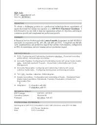 Sap Hr Resume Sample Delectable Hr Consultant Resume Samples Sap Sample Techno Functional