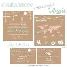Le Blog D Efdc By So Scrap Le Faire Part De Mariage Destination