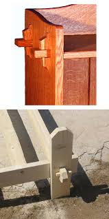 type of wood for furniture. a single wedge clearly visible in the top example above or two opposingangle wedges can be used to lock this joint place note where type of wood for furniture