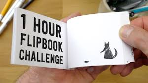 Flip Book With Photos 1 Hour Flipbook Challenge Based On My Sons Drawing Youtube
