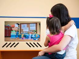 dentist jobs kool smiles jobs parent and child watching tv