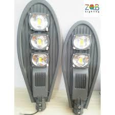 Đèn đường led hình chiếc lá ZQB vỏ xám công suất 100W - 150W - 200W - Công  nghệ COB tiết kiệm điện