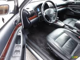 black audi a4 interior. onyx black interior 2000 audi a4 28 quattro sedan photo 55556985