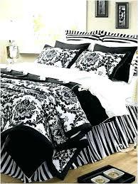 black and white damask bedding king comforter duvet cover bed in a bag california