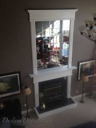 Small Picture DIY Beveled Mirror Tile Overmantel Hometalk