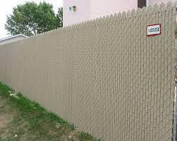 image of review chain link fence privacy screen