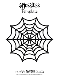 Spider Pattern Printable Spider Web Template Printable Pdf Download