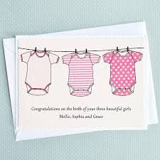 three baby s three pink babygrows