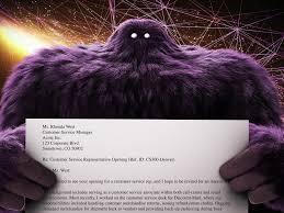 Sample Cover Letter Monster Monster Cover Letter Template Free Letter Templates