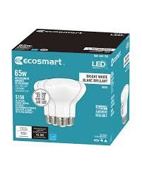 Led Light Bulbs Home Depot Canada 65w Equivalent Bright White 3000k Br30 Dimmable Led Light Bulb 4 Pack Energy Star