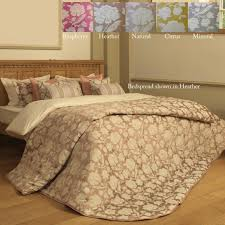 emperor quilted bedspread set downham 5 colours