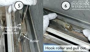 replace sliding door track to replace rollers in aluminum sliding glass doors hook roller patio door