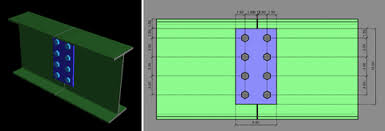 Image result for shear connection on beam