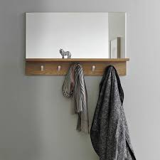 How High To Hang A Coat Rack HighLow Coat Rack Mirror Combos Coat racks Coat hooks and 44