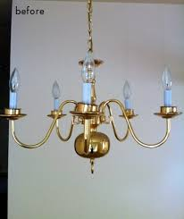 this chandelier makeover from tammie is proof that when it comes to style it s all in the details i thought i had this brass fixture pretty figured out