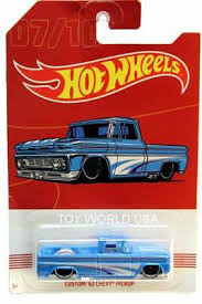 2019 HOT WHEELS American Pickup Truck Series #7 Custom '62 Chevy ...