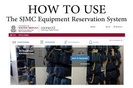 How To Use The Sjmc Equipment Reservation System My Cic