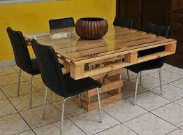 pallets pallet dining table