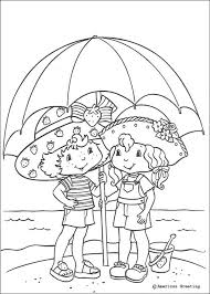 Small Picture Strawberry Shortcake beach umbrella coloring pages crafts