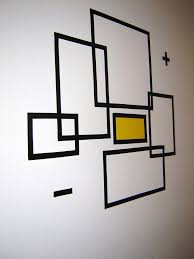 How To Create Wall Art With Electrical Tape: 6 Steps (With Pictures)  Intended