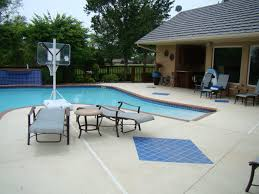 Pool Deck Concrete Overlay