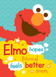 Get Well Card Elmo Hopes